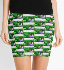 Hello Greenosuarus from the story Dreaming with Dinosaurs, The Book of Yawns, Adventure 1 Mini Skirt