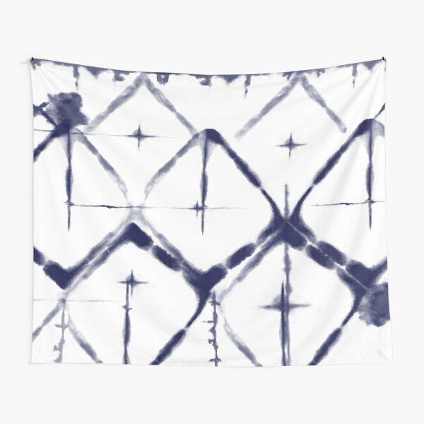Shibori Diamond Tapestry