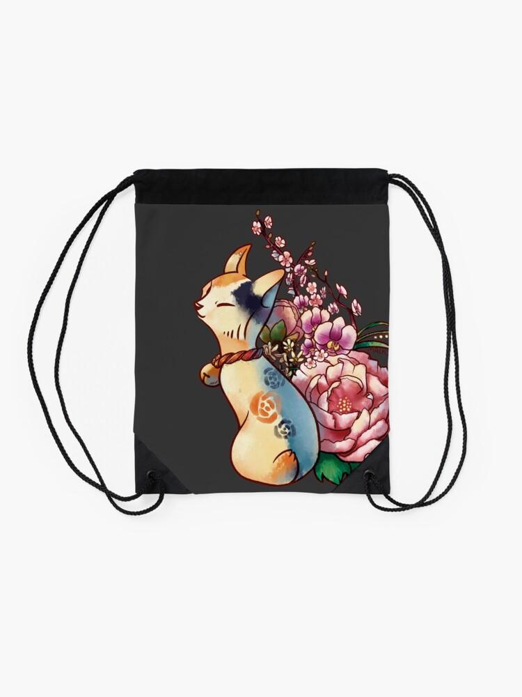 Alternate view of Bouquet Drawstring Bag