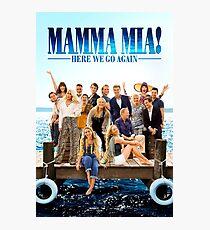 Mamma Mia Fotodruck