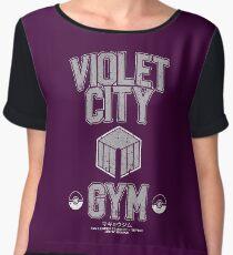 Violet City Gym Chiffon Top