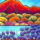 Pastel - Jacaranda Season by Georgie Sharp
