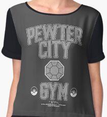 Pewter City Gym Chiffon Top
