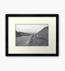 Cork/Kerry border Framed Print