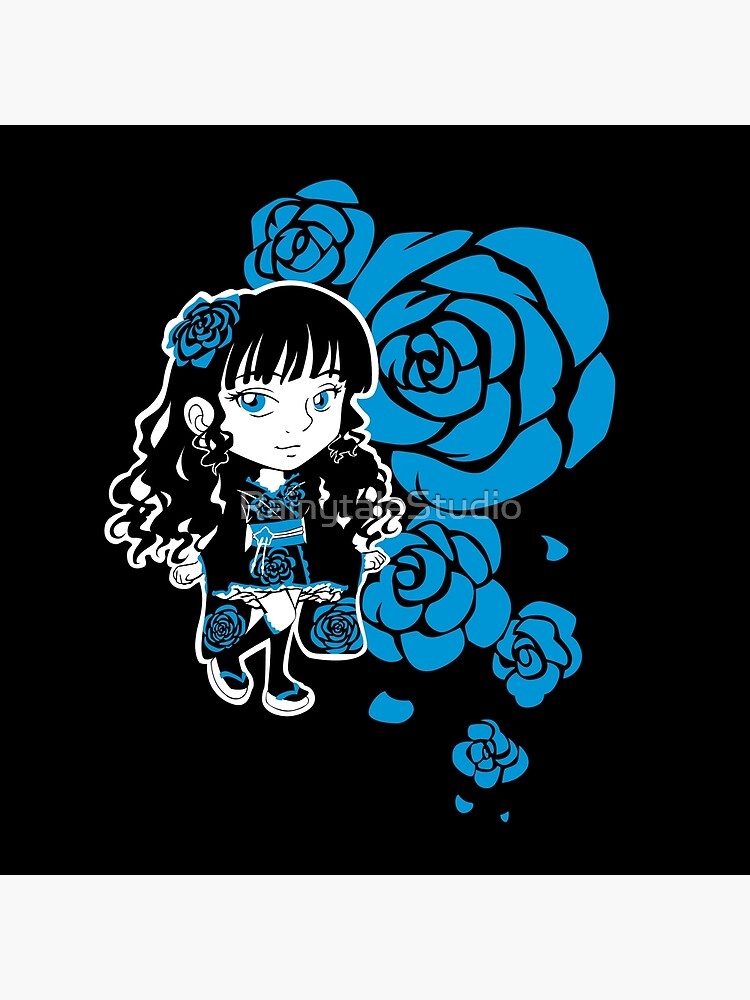 Wa-Lolita Blue Rose by RainytaleStudio