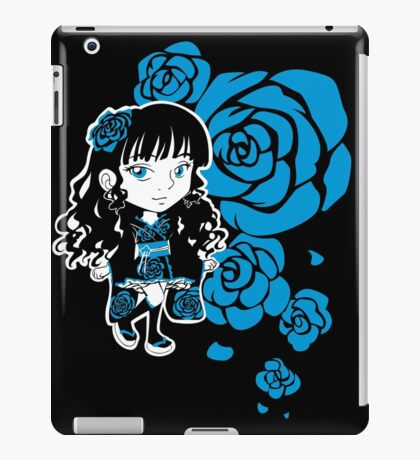 Wa-Lolita Blue Rose iPad Case/Skin