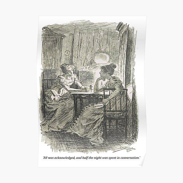 Orgullo y prejuicio, ilustración original Póster