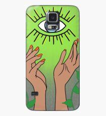 Mal De Ojo Green Case/Skin for Samsung Galaxy