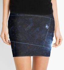 cursed images - black tile  Mini Skirt