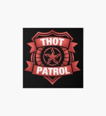 Thot Patrol - RED ALERT Art Board