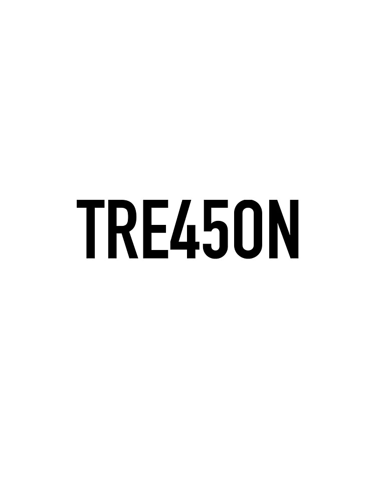 Trump is Guilty of Treason - TRE45ON by motorcycles