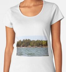 Serene shores Women's Premium T-Shirt