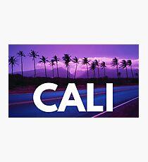 Cali - California Photographic Print