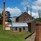 5 Chimney Stacks,Anderson's Mill,Smeaton, Victoria by Joe Mortelliti