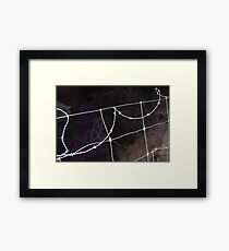 WIRE! Framed Print