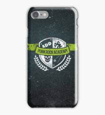 Punk Rock Academy iPhone Case/Skin