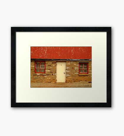 Lucky 13,Cottage S.A. Framed Print