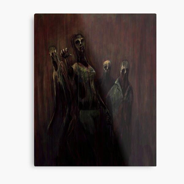 Zombies! Metal Print