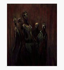 Zombies! Photographic Print