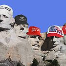 Trump on Mt. Rushmore by EyeMagined