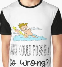 What Could Possibly Go Wrong Lightning Strike Gifts Graphic T-Shirt