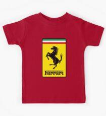 Ferrari-Logo Kinder T-Shirt