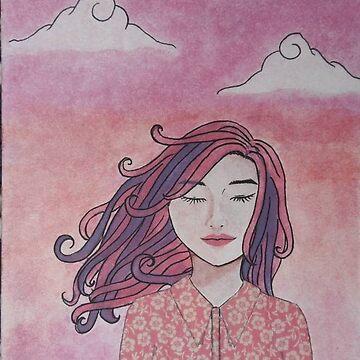 A Meditation In Pink by maerooo