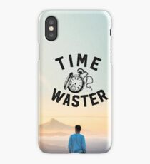 Time Waster iPhone Case