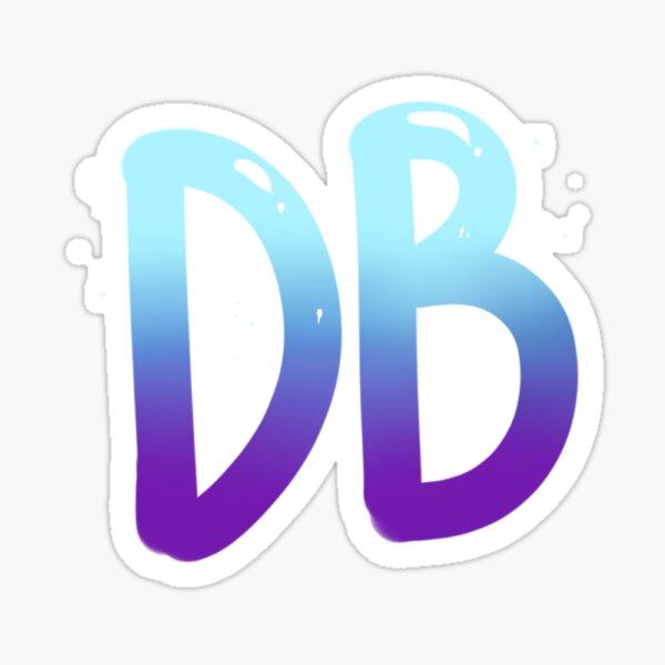 Dynamic Bliss Initials Merch Sticker