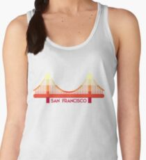 Golden Gate Bridge San Francisco Women's Tank Top