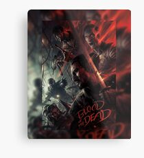 Blood of the Dead - BO4 Metal Print