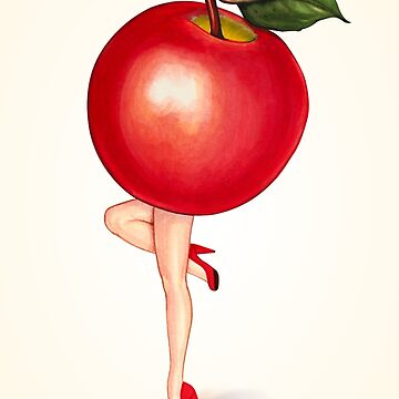 Apple Pin-Up by KellyGilleran