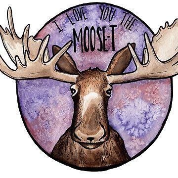 Ich liebe dich die Moose-t von polaskus