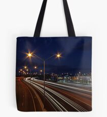 Graham Farmer Freeway Traffic  Tote Bag