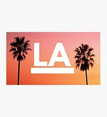 LA - Los Angeles, California Photographic Print