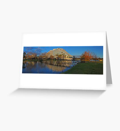 Burswood Casino At Sunset  Greeting Card