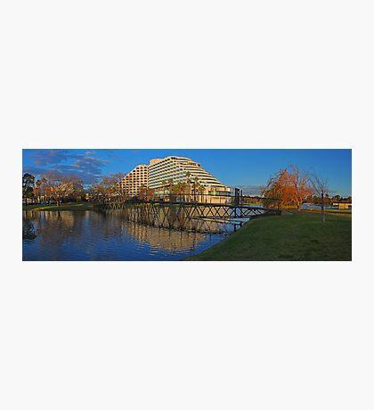 Burswood Casino At Sunset  Photographic Print