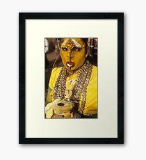 Woman as Godess Framed Print