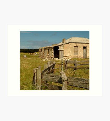 Ruins South Australia Art Print