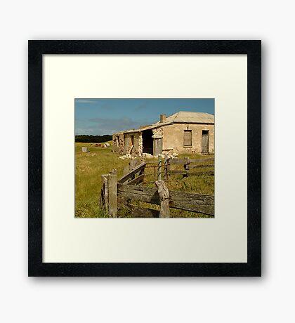 Ruins South Australia Framed Print