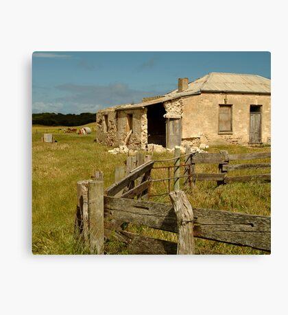 Ruins South Australia Canvas Print