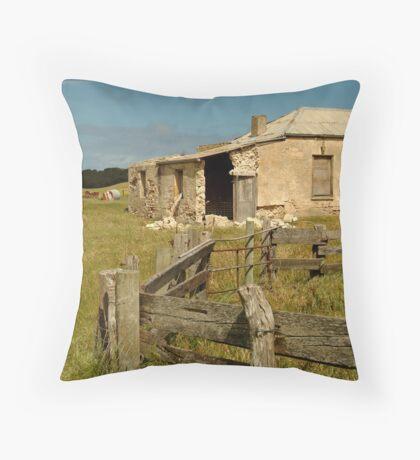 Ruins South Australia Throw Pillow