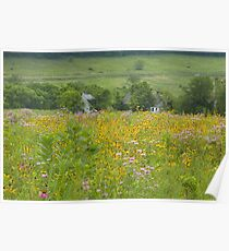 Farmstead in Summer Poster