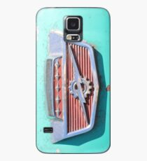 Rusted Blue 1960's Ford Truck Emblem only - Thunderbolt Case/Skin for Samsung Galaxy