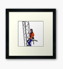 Atop the World Framed Print