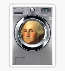 George Washingmachine Sticker