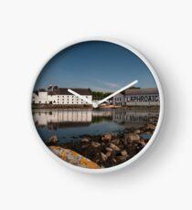 Islay: Laphroaig Distillery Clock