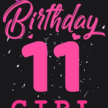 Pink Birthday Girl 11 by melsens