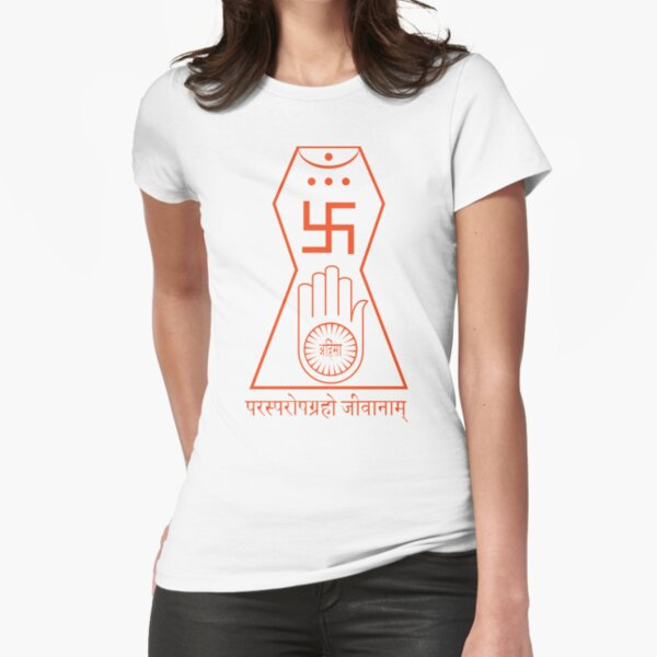 Jainism Fitted T-Shirt