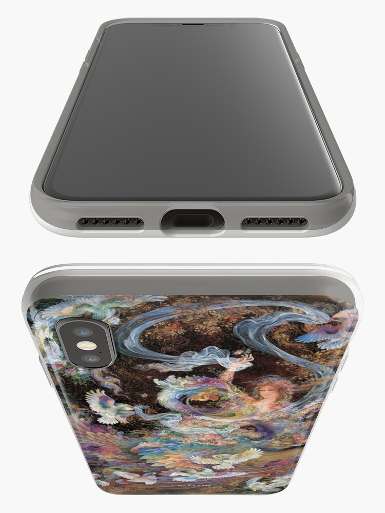 Alternate view of Persian Miniature - F175 iPhone Case & Cover
